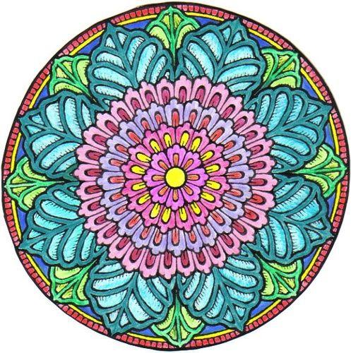Mystical Mandala Coloring Book Dover Design Books Alberta Hutchinson 9780486456942