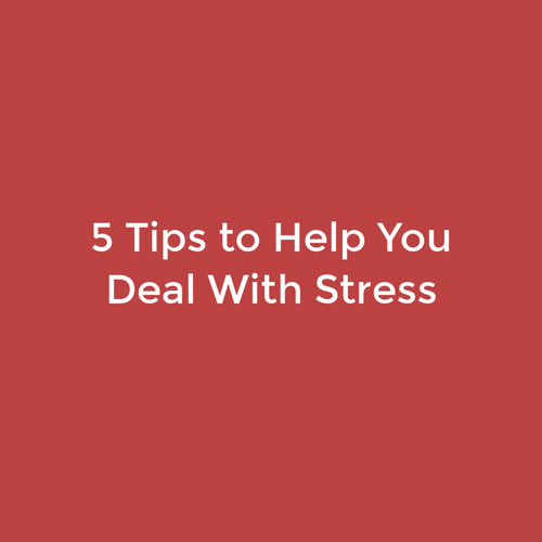 5 Tips to Help You Deal With Stress (With images ...