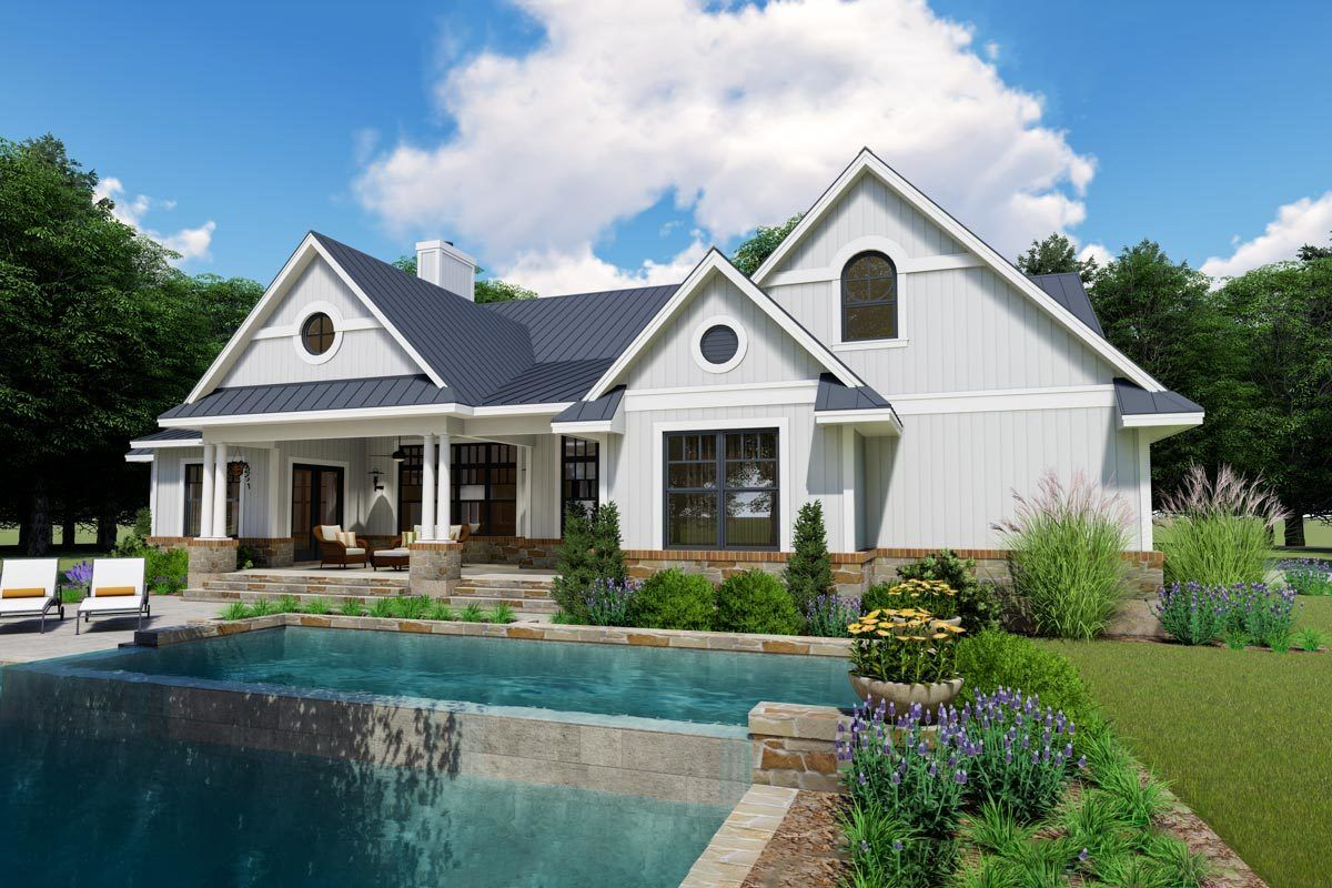 Plan 16904WG Living Out My Country Home Plan Dream