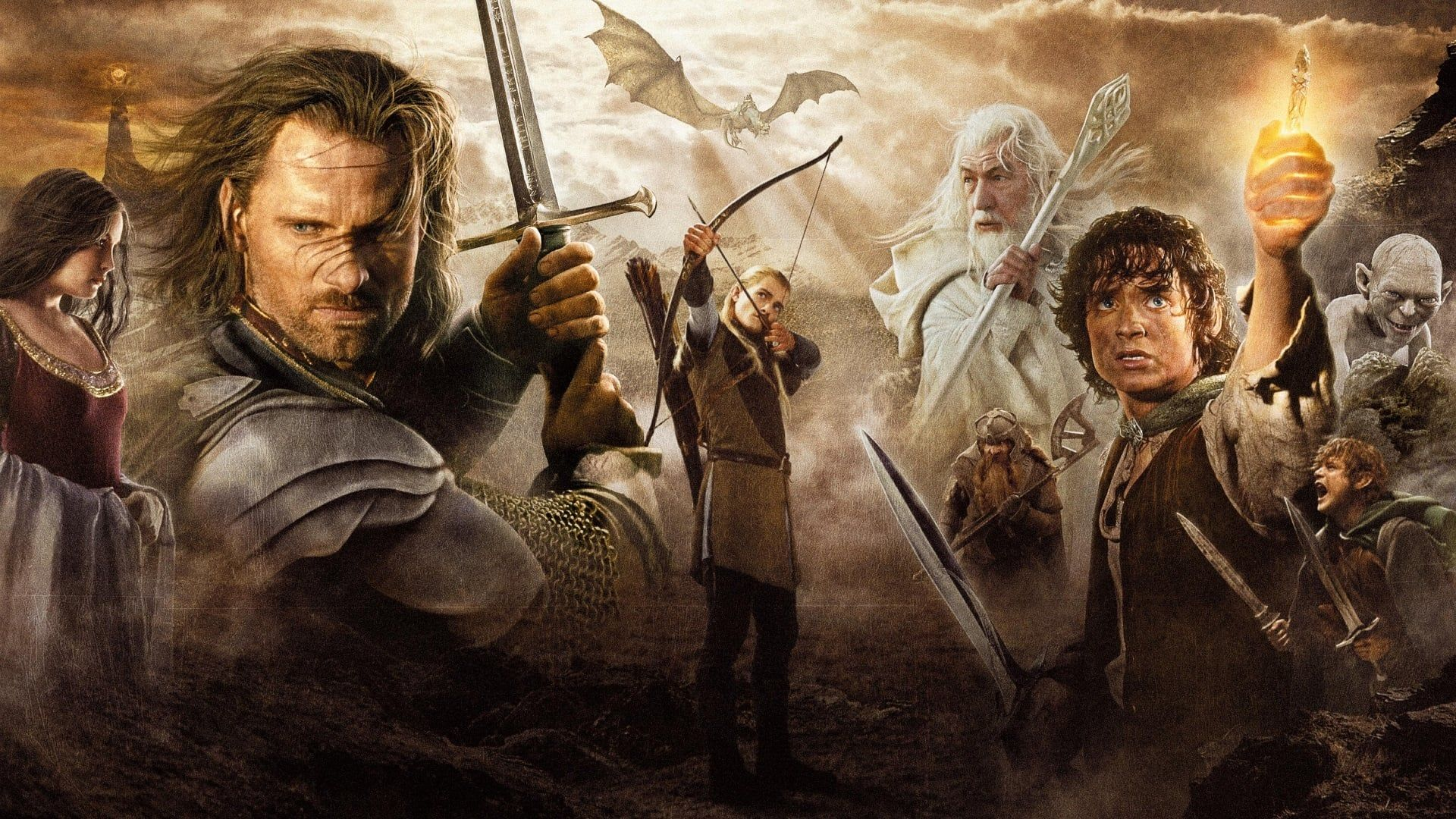 Il Signore Degli Anelli Il Ritorno Del Re 2003 Streaming Ita Cb01 Film Completo Italiano Altadefinizione Le Forz The Hobbit Lotr Characters Lord Of The Rings