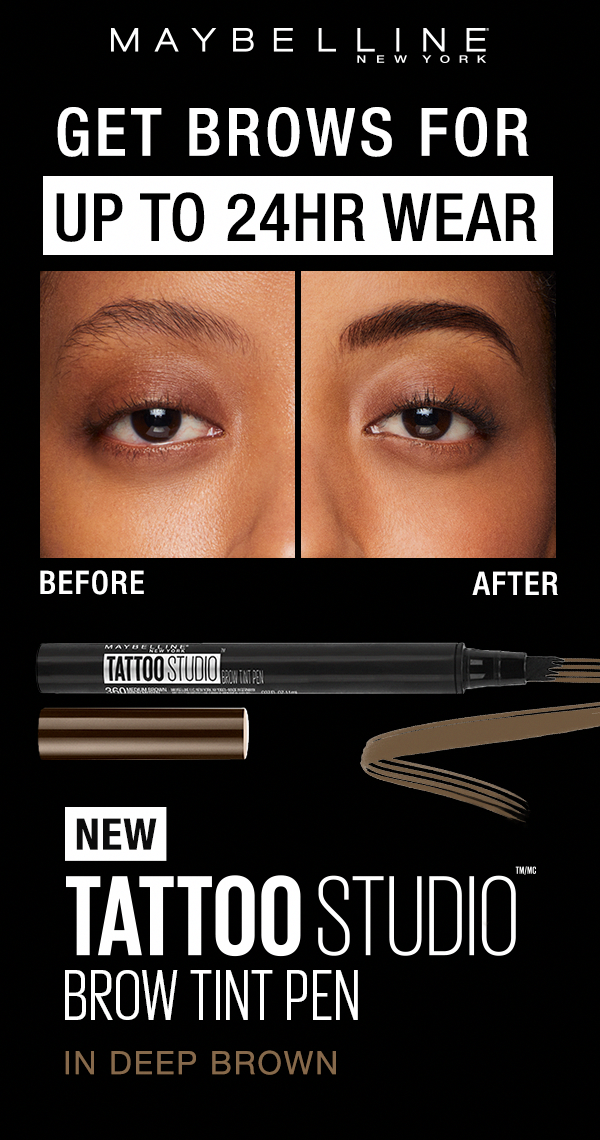 Create Foolproof Brows With Our First Eyebrow Pen Our Tattoostudio Brow Tint Pen Fills In Brows With Natural Looking Brow Tinting Best Eyebrow Products Brows
