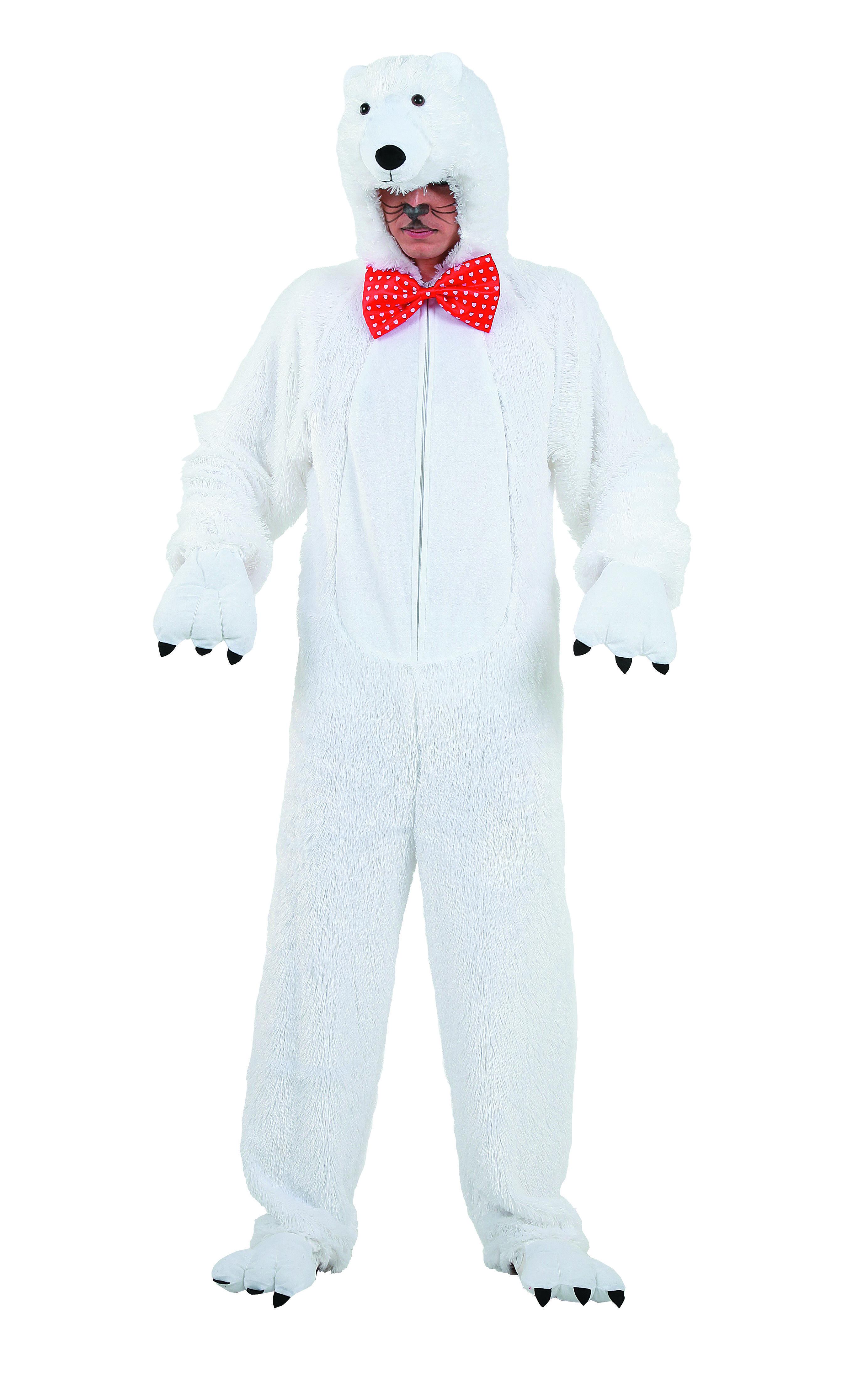 5808d1c9c Disfraz de oso polar para adultos