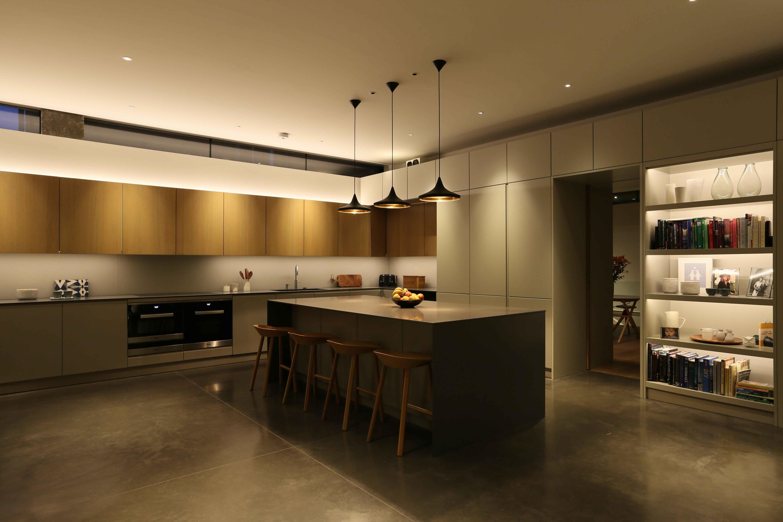Kitchen Lighting By John Cullen Interior Design London Residential Contemporary
