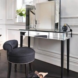 Art Deco Dressing Table, Black Orchid interiors