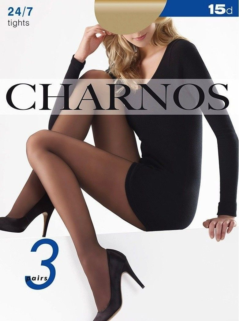 Nude 3 PACK Knee High 15 Denier Tights   Long Tall Sally