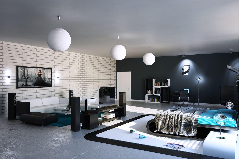 Komfort Ruhe Zeit In Der Modernen Schlafzimmer Design | Möbel ...