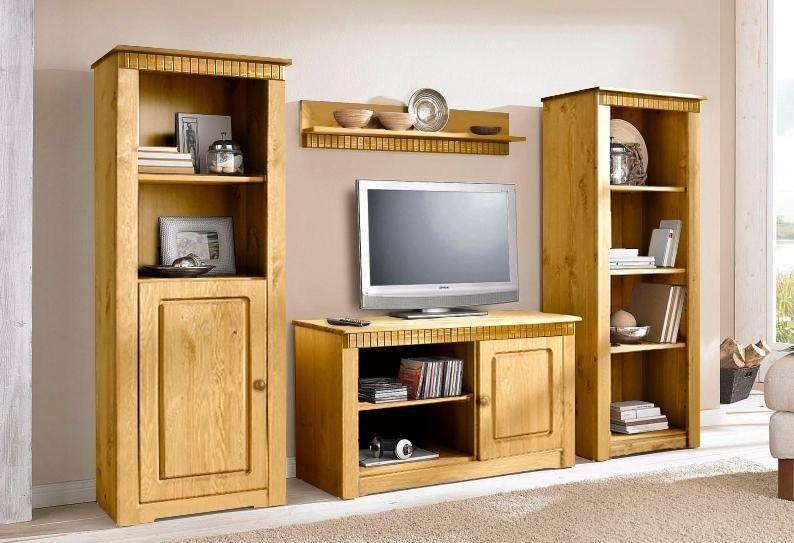 Home affaire Wohn-Wand »New Cheap« beige, pflegeleichte Oberfläche - wohnzimmer beige wand
