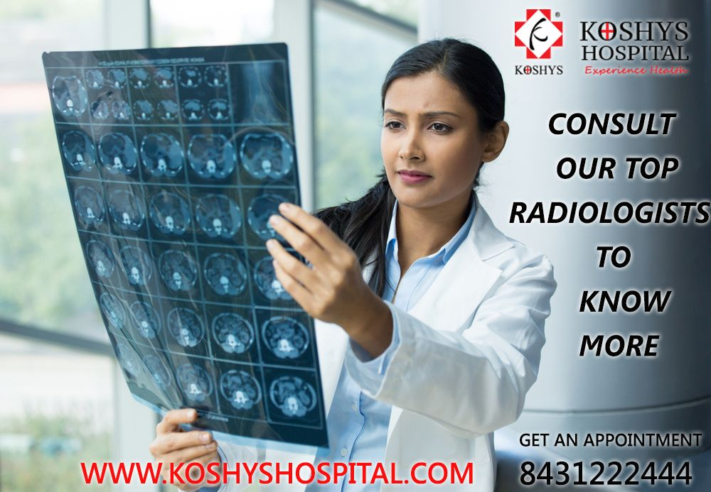 Department of Radiologists at Koshy's Hospital