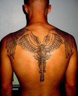 Resultado De Imagem Para Tatuagem Asas De Anjo Masculina