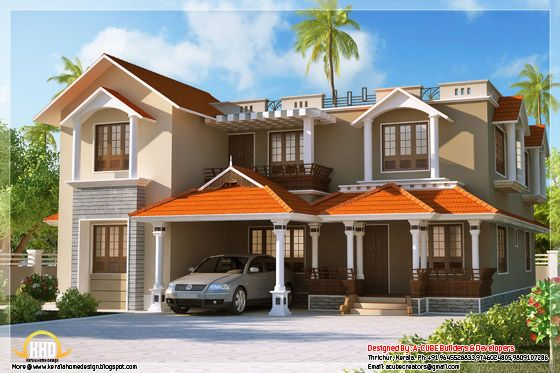 Keralahomedesign Com Kerala House Design Bungalow House Design House Elevation