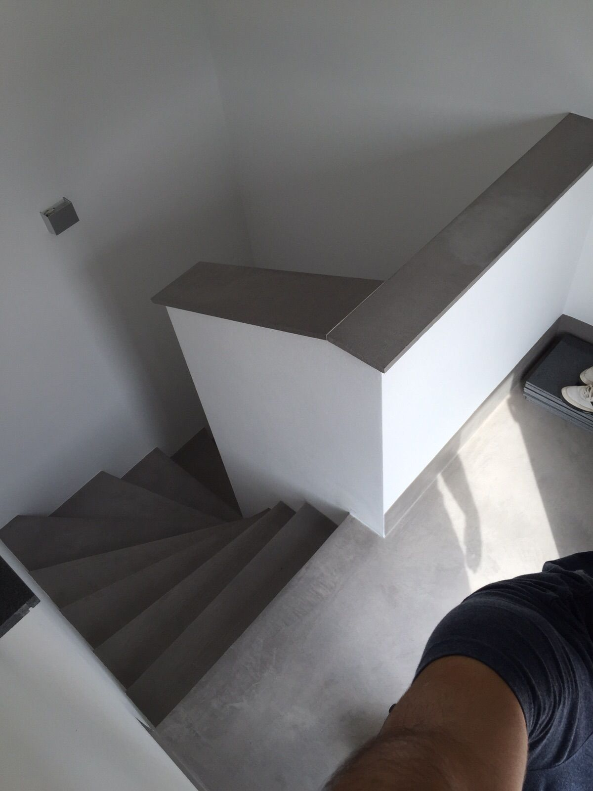 Beton Cire Treppe Fensterbank Fugenlos | Treppe | Pinterest