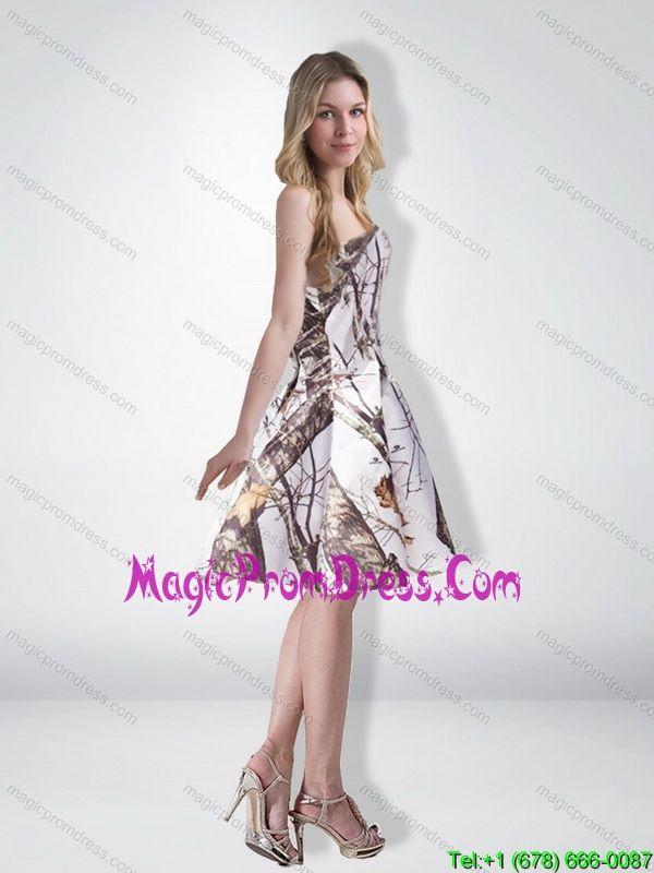 knee length camo bridesmaid dresses | ... Prom Dresses > Cheap Multi ...