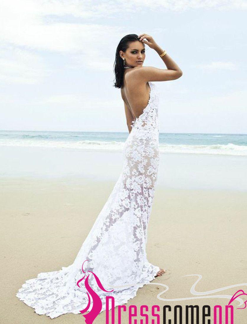 White Summer Beach Wedding Dresses Women S For Weddings Check More At Http Svesty