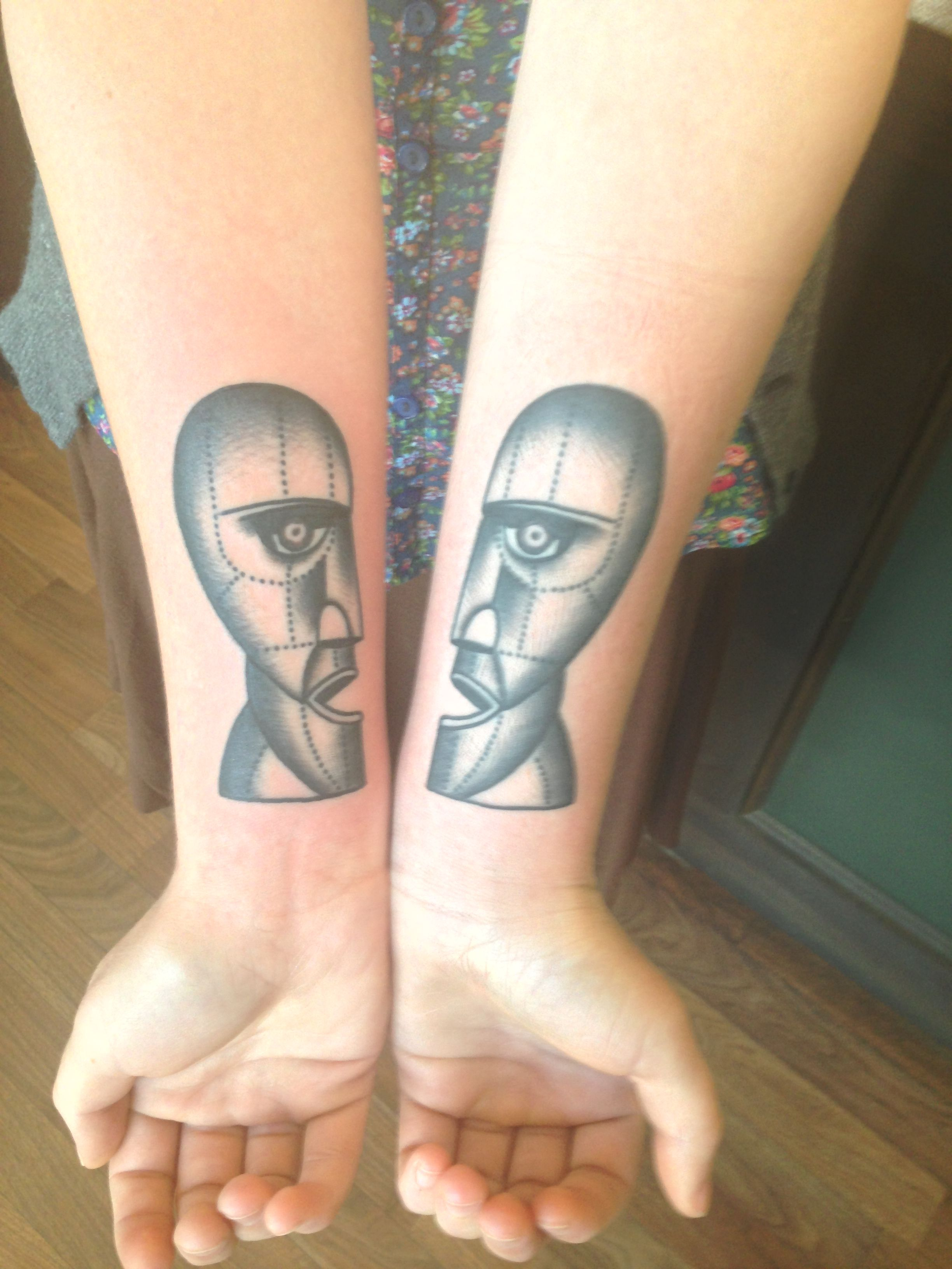 Pink Floyds Division Bell Tattoo Ink Belle Tattoo Hand
