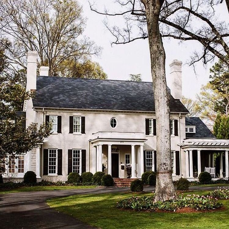 Traditional Style House Exterior Beautiful Homes Exterior