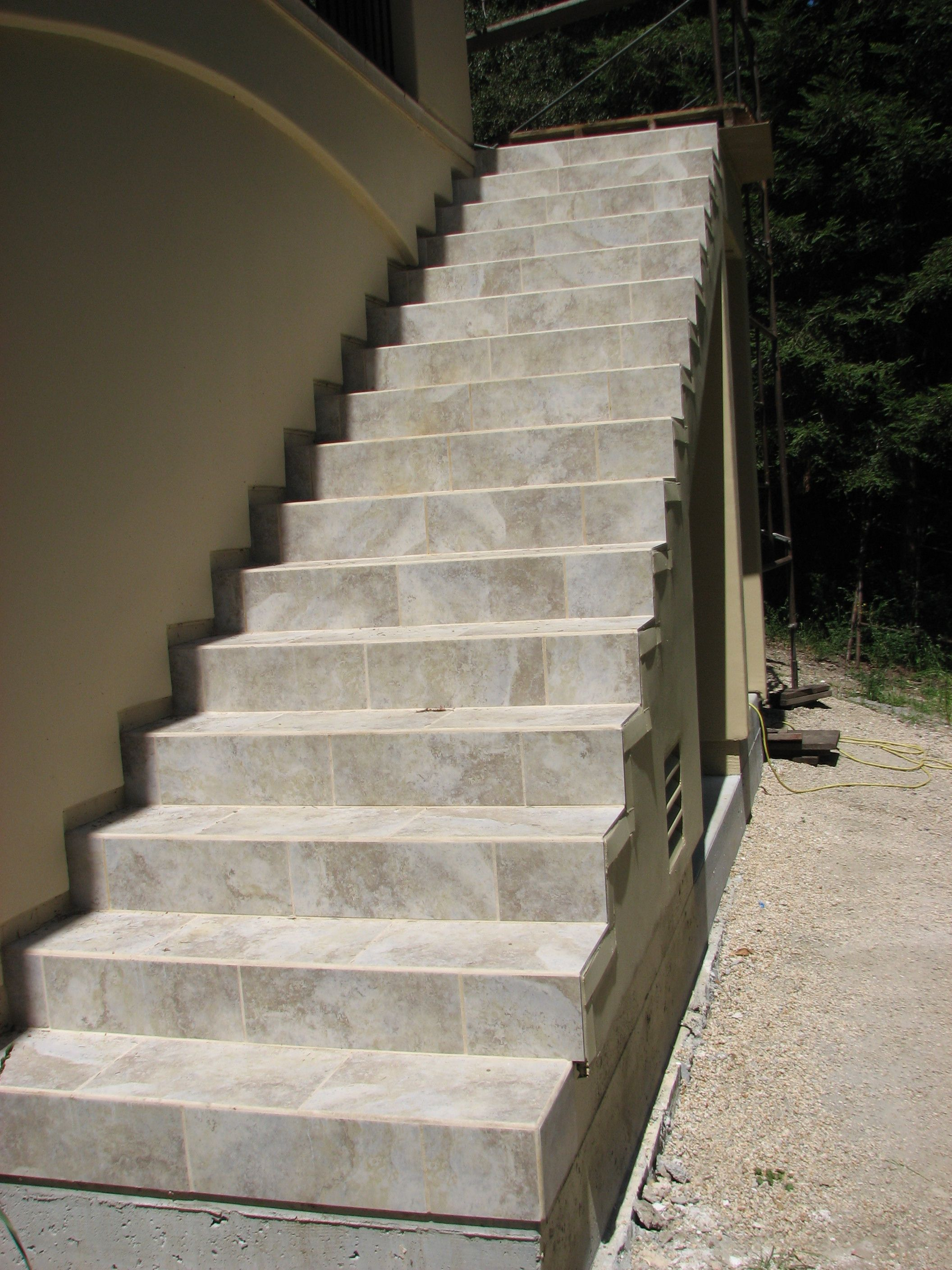 Tiled Stairs By Central Coast Tile Http | Tiles Design For Stairs Wall