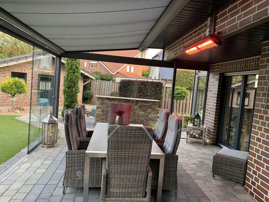 Heizstrahler Balkon Terrasse Garten Tansun Infrarot Heizstrahler In 2020 Terrasse Strahler Terassenideen