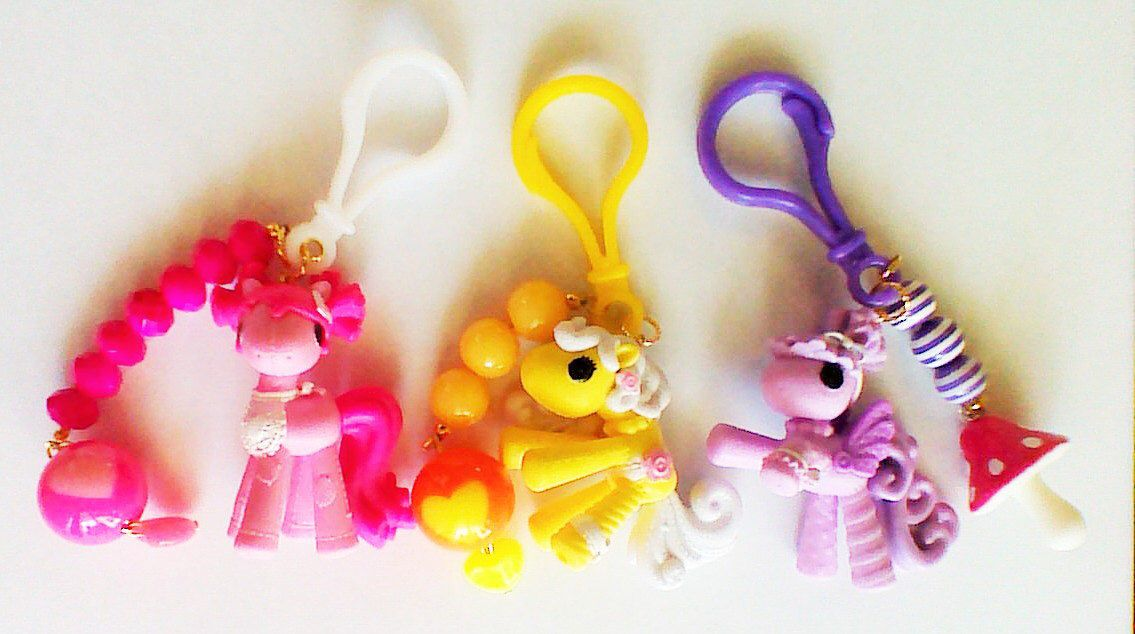 A personal favorite from my Etsy shop https://www.etsy.com/listing/209409517/mini-ponies-keychains-accessories