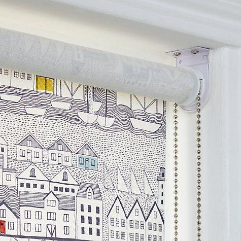 Buy John Lewis Nordic Houses Daylight Roller Blind Online ...