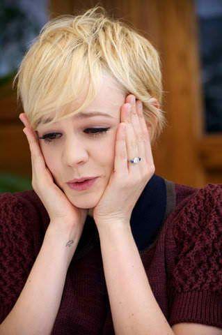 Carey Mulligan Engagement Ring ring engagement diamond bling
