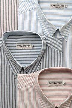Camisa rayada sport con bolsillo - Cod. 0090
