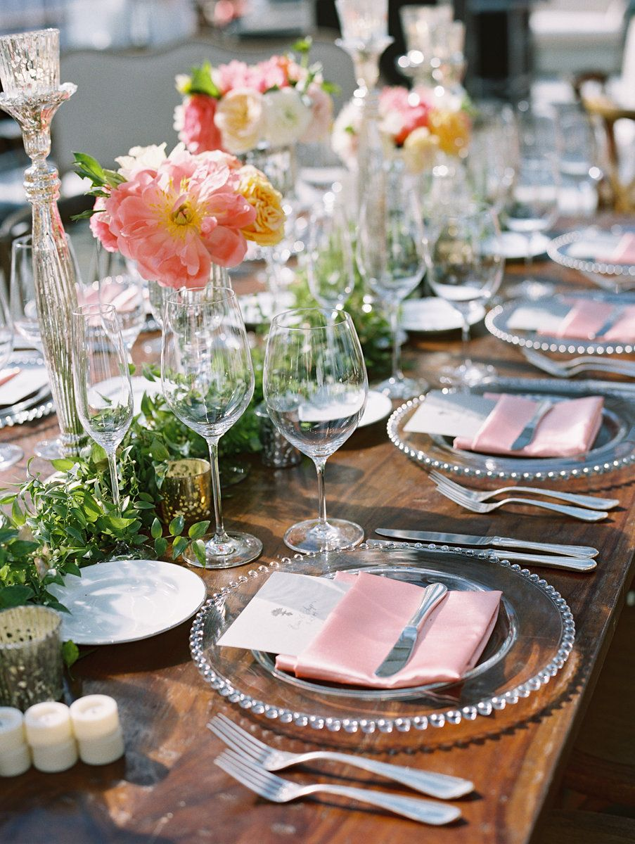 //gardenonthesquare.com/erin_and_chip.html table setting centerpiece flowers pink wedding reception & http://gardenonthesquare.com/erin_and_chip.html table setting ...