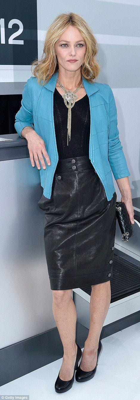 super-stylish Vanessa Paradis,  the epitome of Parisian chic
