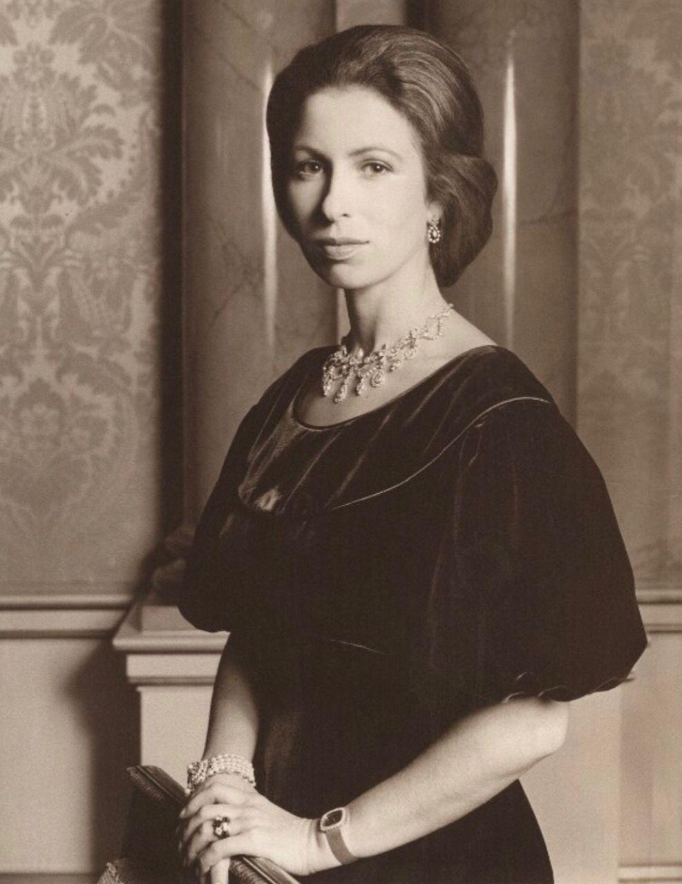 classicroyalrarepics Princess Anne in her 20s Princess