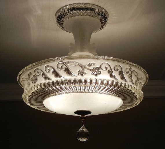 Craftsman Homes Art Deco Lighting Ceiling Lights Vintage Light Fixtures Vintage ceiling lighting fixtures