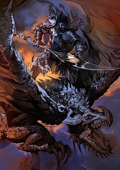 死竜騎士『ラングバルト』