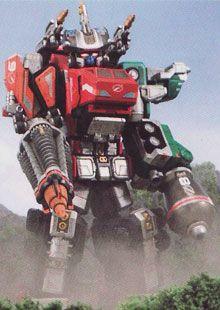 Power Rangers Operation Overdrive Mercury Ranger Megazord