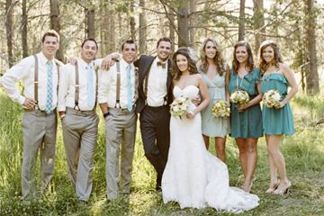 mari s et amis hommes avec bretelles wedding mariage neon fluo pinterest bretelles. Black Bedroom Furniture Sets. Home Design Ideas