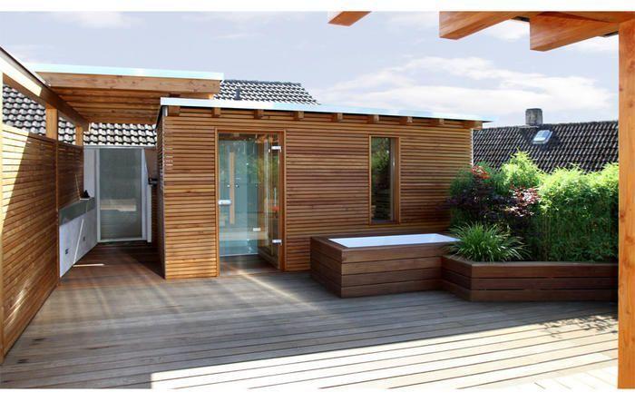 Sauna selber bauen Kosten, Planung, Ideen, Anbieter