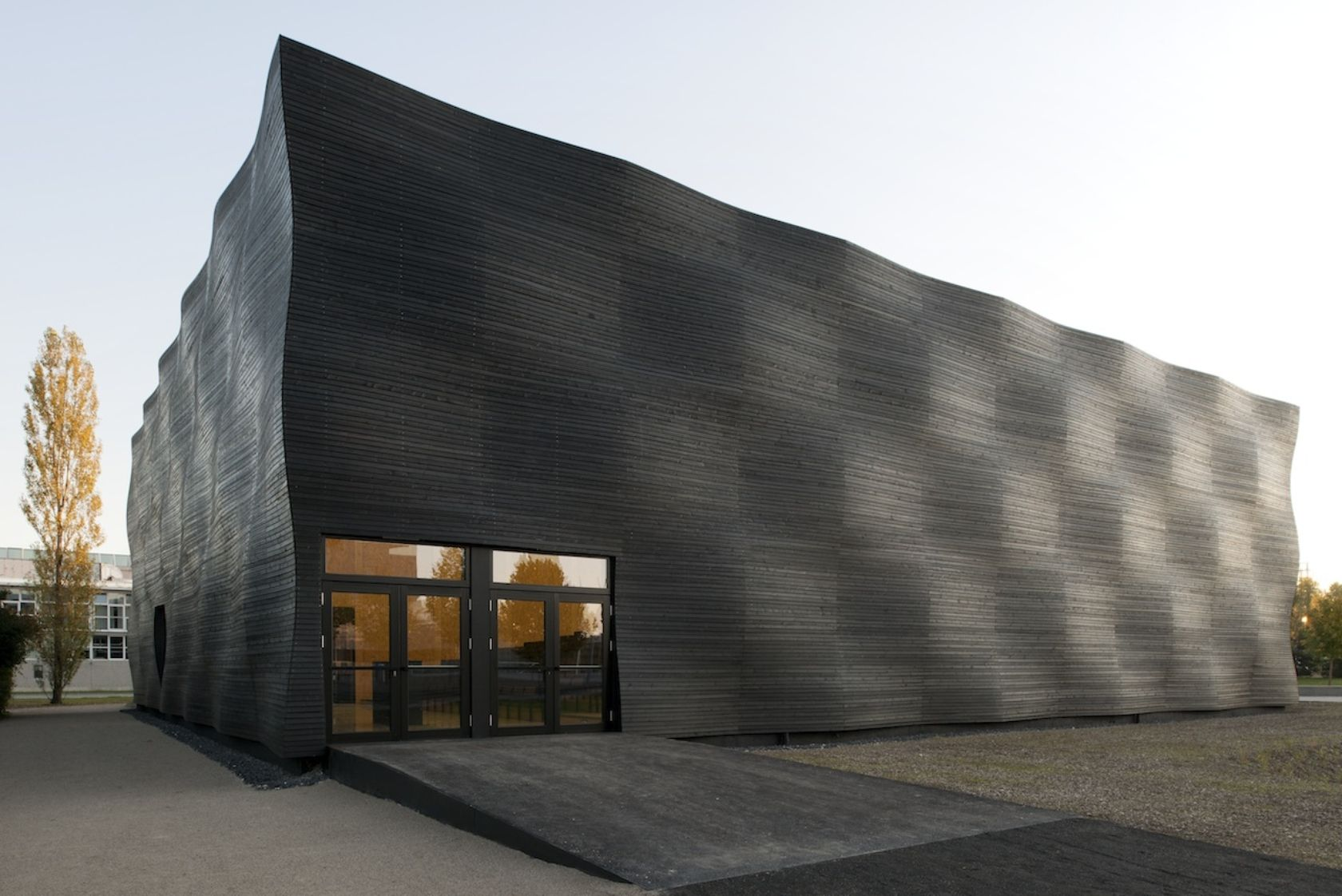 Interims Audimax - Explore, Collect and Source architecture