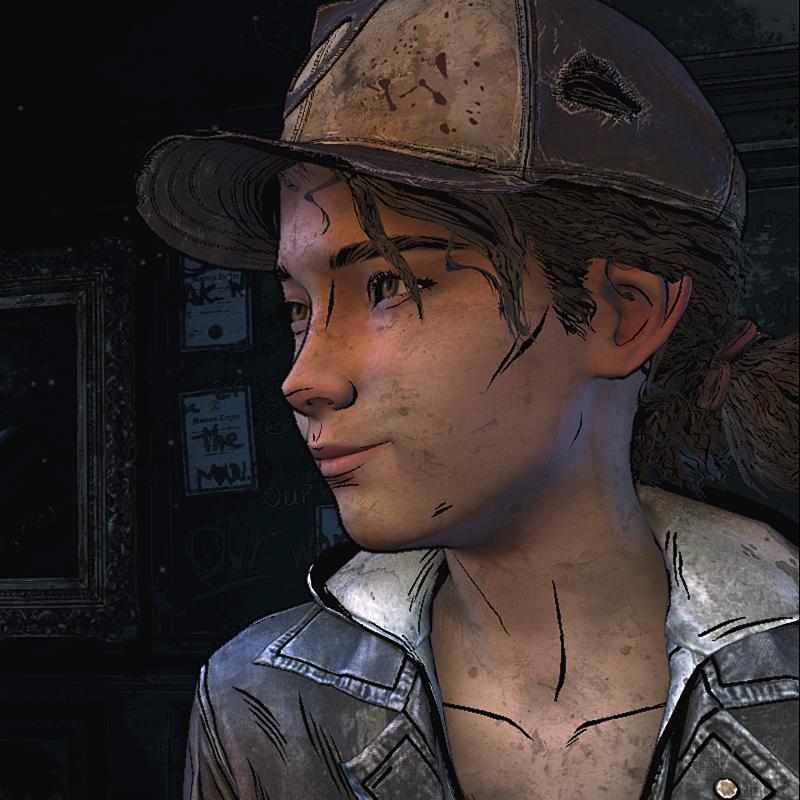 Screenshot By Thecomicsunshine The Walking Dead Telltale Clementine Walking Dead Walking Dead Game