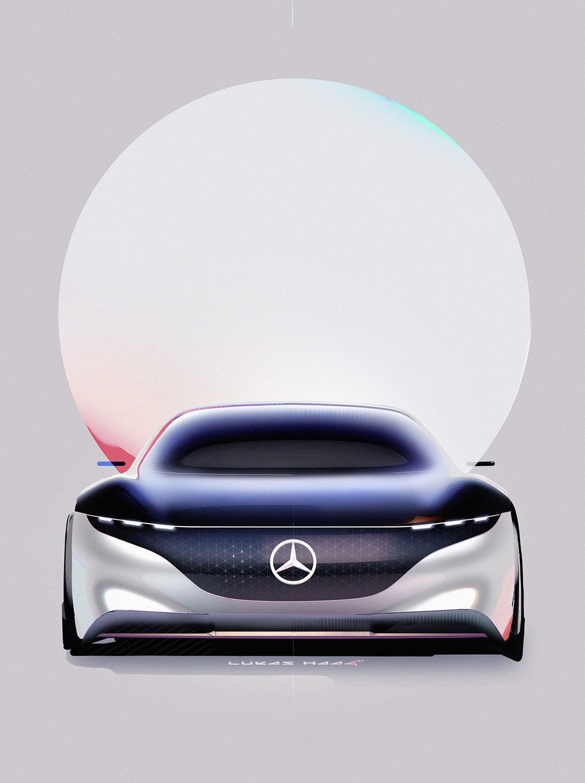 Mercedes-Benz Vision EQS Concept Revealed at Frankfurt Auto Show