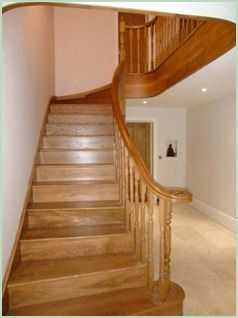 Best Part Wall Mounted Part Spindle Stair Rail Then Curved 400 x 300