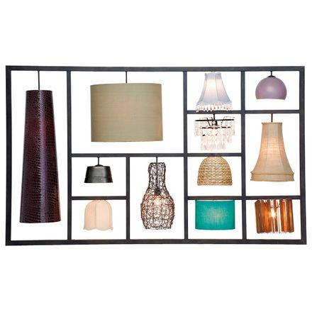 34736 lampada da parete parecchi kare design outlet arredo design ...