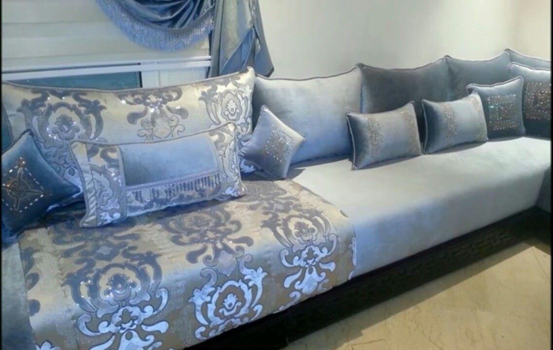 Tres beau | top design | Deco salon marocain, Salon marocain ...