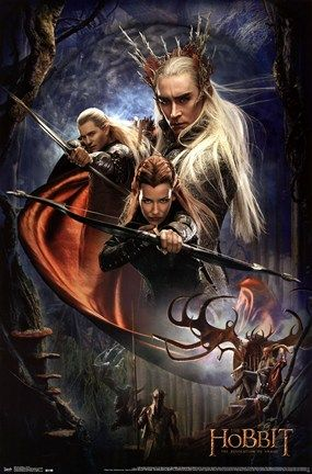 The Hobbit 2 Grappige Films Filmposters Poster