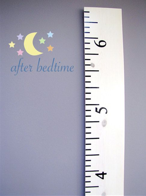 Oversized White Washed Wooden Ruler Growth Chart Perfect For Tracking Your Kids Height And You Can Wooden Ruler Growth Chart Growth Chart Ruler Growth Chart