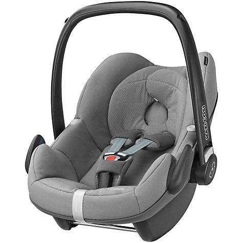Maxi Cosi Pebble Group 0 Baby Car Seat Concrete Grey Baby Car Seats Car Seats Baby Car