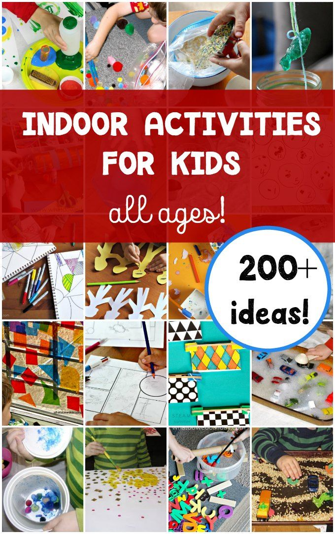 Giant List Of Indoor Activities For Kids Kid Blogger Network