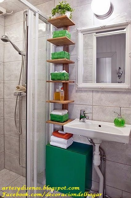 Organizadores para ba os by for Como decorar un cuarto de bano pequeno