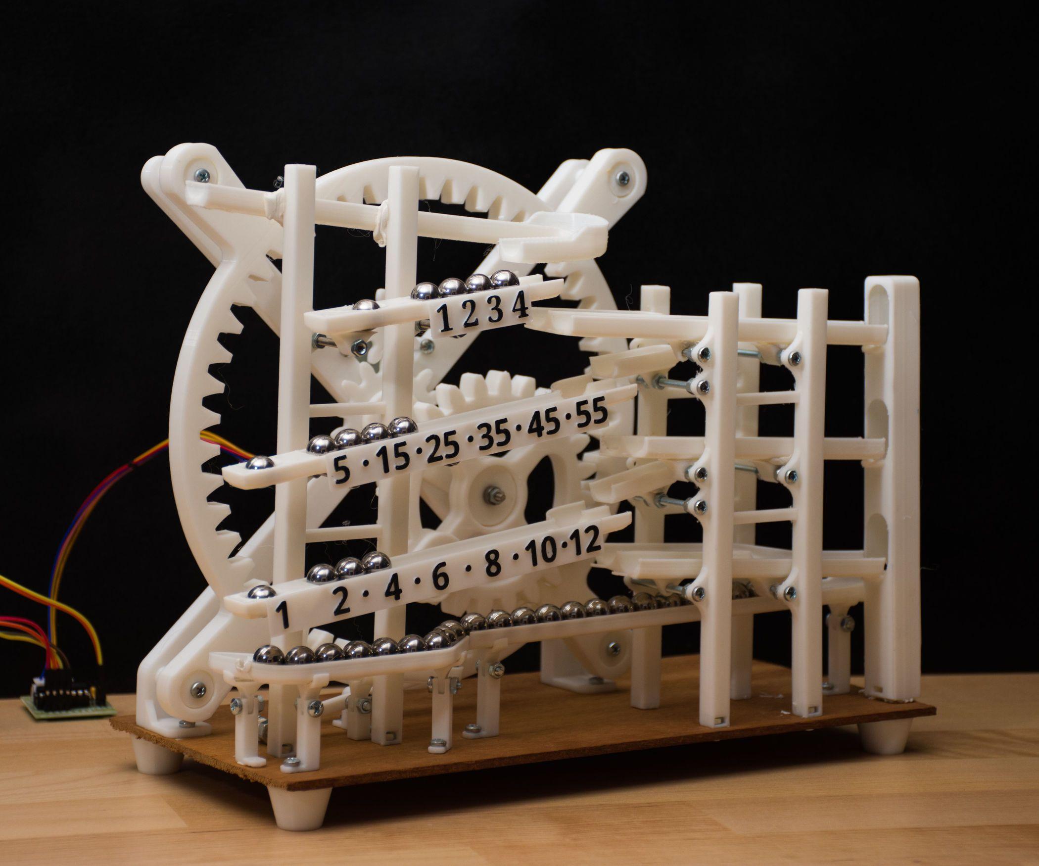 Marble Clock Marble Clock 3d Printing Custom Clocks