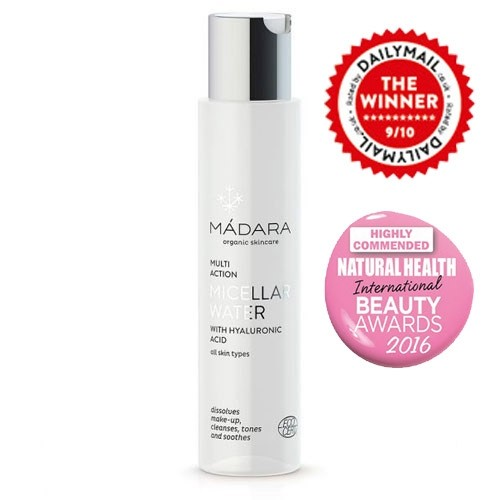 Madara Micellar Water Makeup Remover & Cleanser, 100ml