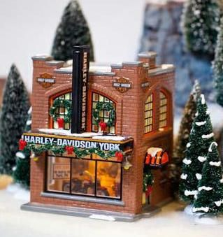 Department 56 Snow Village Harley Davidson York Pa Department 56 Christmas Village Christmas Village Sets Holiday Party Themes