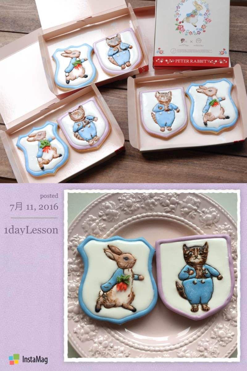 Lesson record 7.11 |icing cookie salon HARUHARU 徳島 アイシングクッキー デコカップケーキ 教室