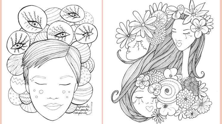 Chicas de Papel de Verónica Maraver. 36 láminas para colorear lleno ...