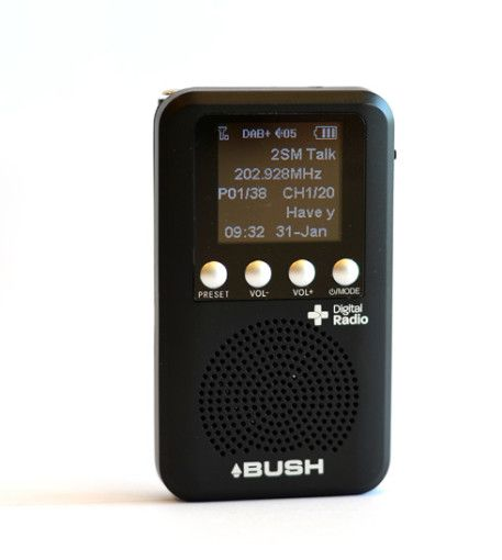 bush pocket personal dab with speaker gesamt dab. Black Bedroom Furniture Sets. Home Design Ideas